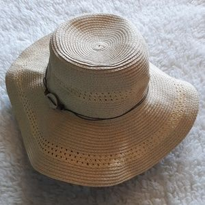 Summer Breeze Big Brim Paper Braid Sun Hat